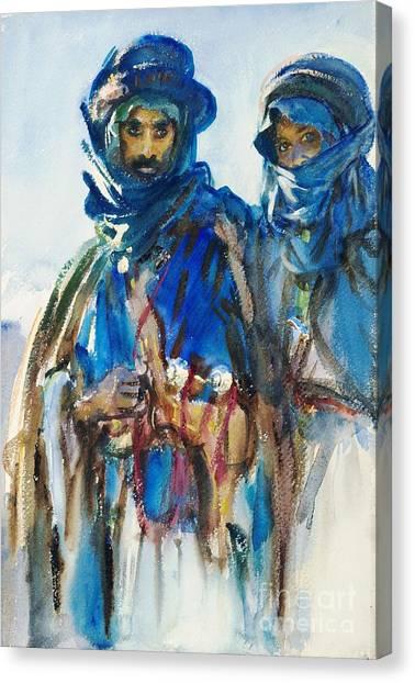 Bedouins Canvas Print