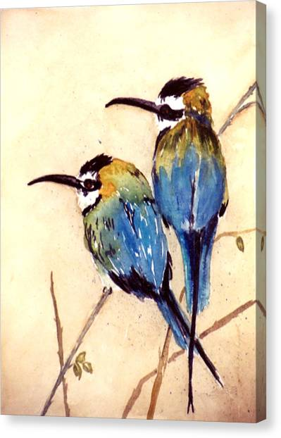 Bee Catchers Canvas Print