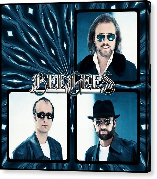 Bee Gees I Canvas Print