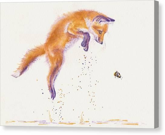 Bee Naive Canvas Print