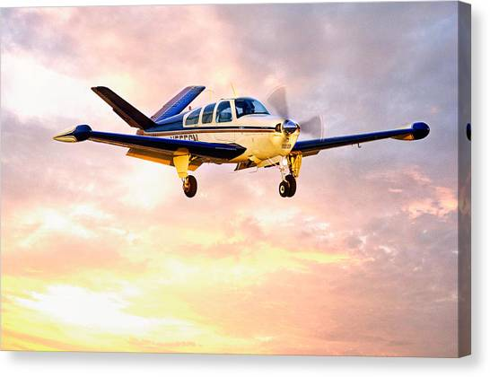Beechcraft Bonanza Canvas Print