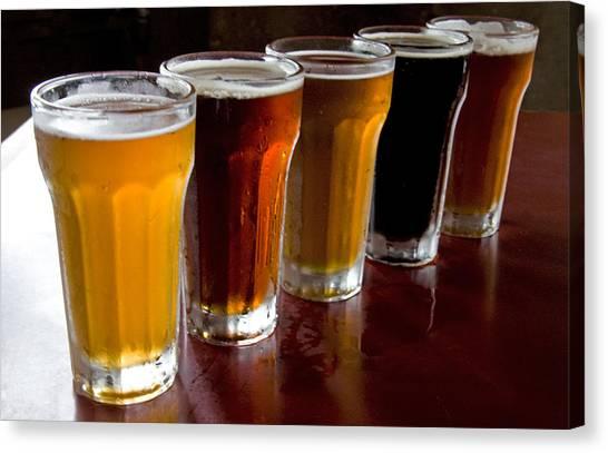 Beers  Canvas Print