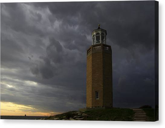 University Of Connecticut Canvas Print - Before The Storm. by David Freuthal