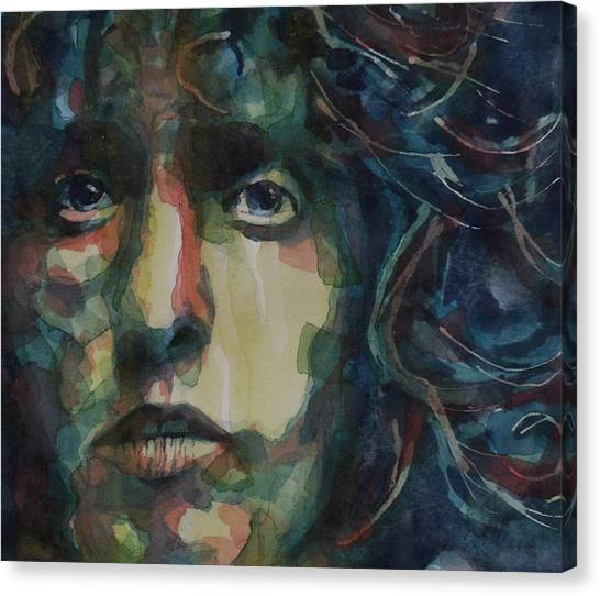 Lips Canvas Print - Behind Blue Eyes by Paul Lovering