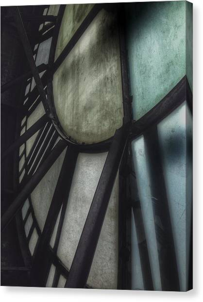 Behind The Clock - Emerson Bromo-seltzer Tower Canvas Print