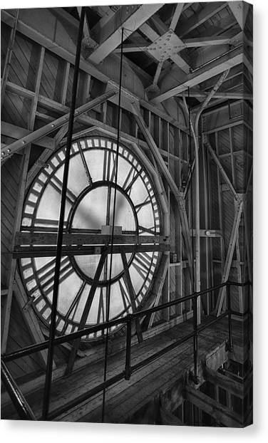 Dartmouth College Canvas Print - Behind Time by Nathan Larson