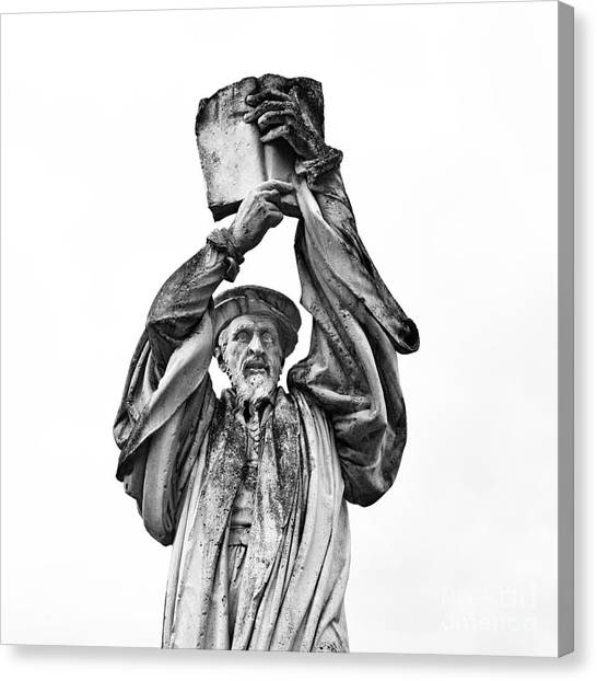 Behold The Word Of God Canvas Print