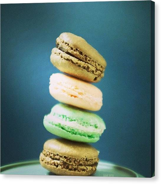 Bakeries Canvas Print - Being Friends With A Pastry Chef Is by Heidi Hermes
