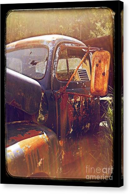 Being Old  Canvas Print