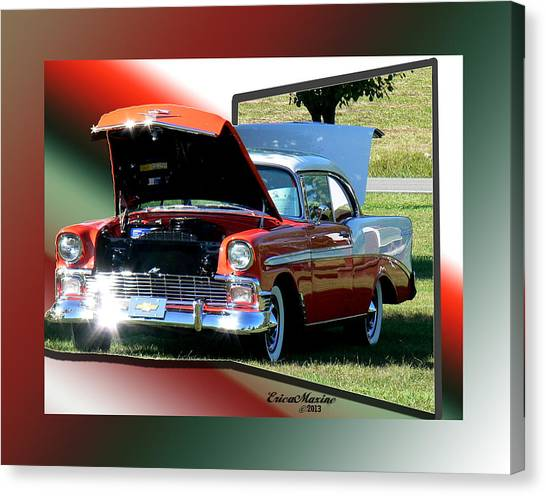 Bel Air 1950s-featured In Manufactured Items Group Canvas Print