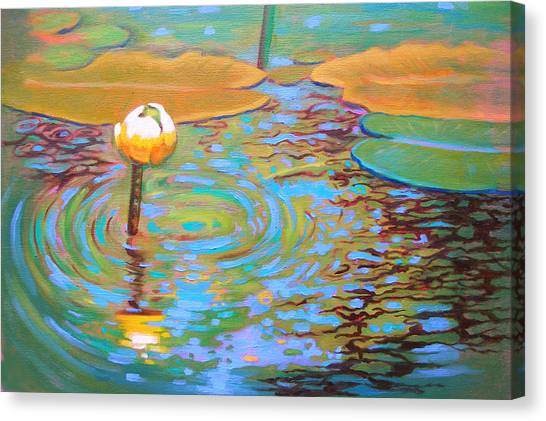 Belchertown Lily Canvas Print by Susi Franco