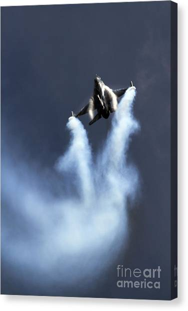 F16 Canvas Print - Belgian F16 by J Biggadike