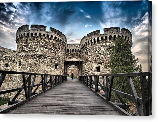 Belgrade Castle Canvas Print