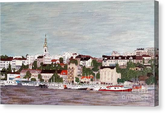 Belgrade Serbia Canvas Print
