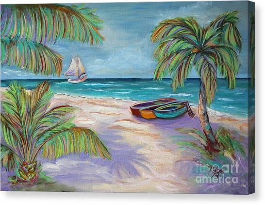 Belize Beach Canvas Print