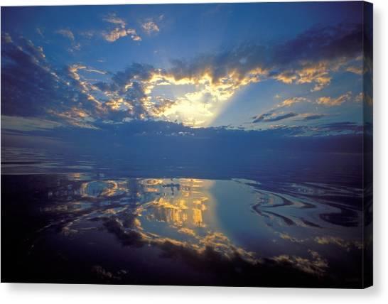 Belize Dawn Canvas Print