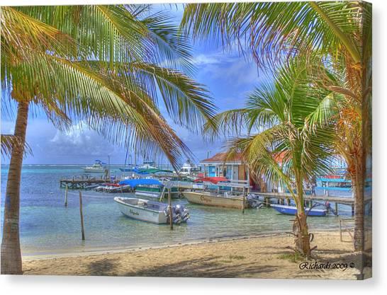 Belize Hdr Canvas Print