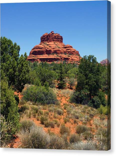 Bell Rock 2 Canvas Print by Trish H