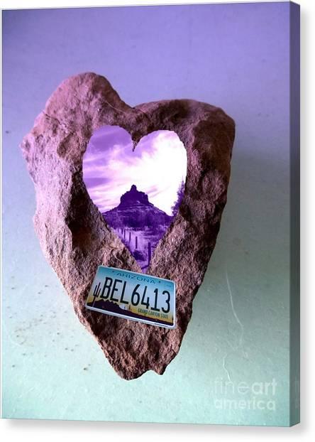 Bell Rock 6413 Serendipity Canvas Print