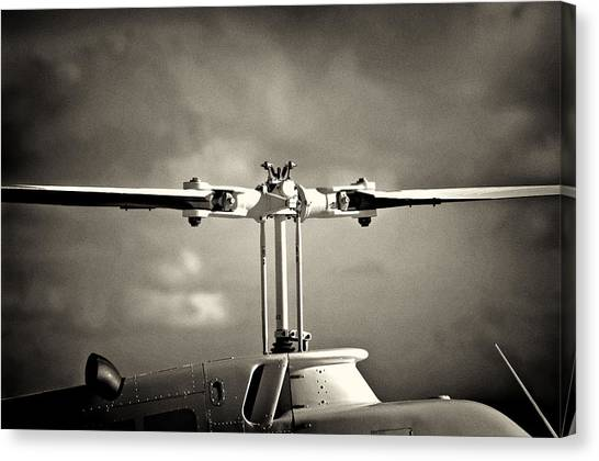 Bell Rotor Canvas Print