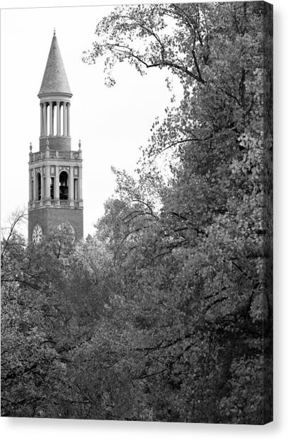 University Of North Carolina Chapel Hill Canvas Print - Bell Tower - Carolina - Unc Photo by Matt Plyler