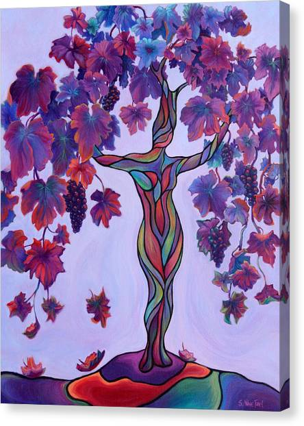 Bella Di Vino Canvas Print
