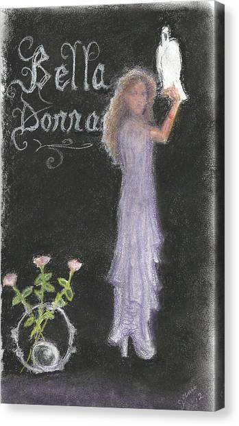 Bella Donna Canvas Print by Jami Cirotti