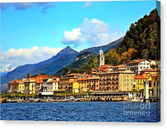 Bellagio On Lake Como Canvas Print
