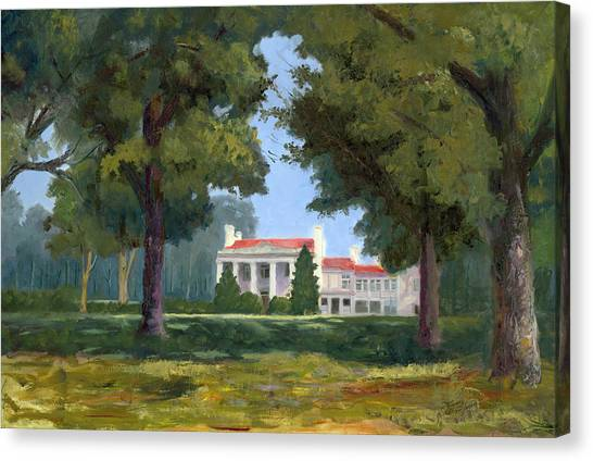Belle Meade Mansion Nashville Tennessee Canvas Print by Tommy Thompson