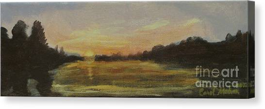 Belle River I Canvas Print