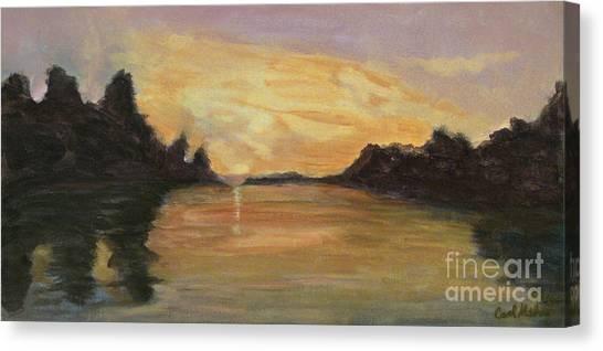 Belle River II Canvas Print