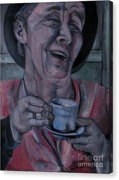 Belly Laugh Canvas Print