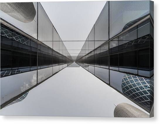 Belly To Building Canvas Print by Charlie Tash
