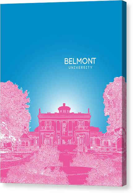 Belmont University Canvas Print - Belmont University by Myke Huynh