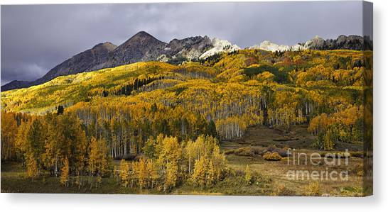 Below The Ruby Range Canvas Print