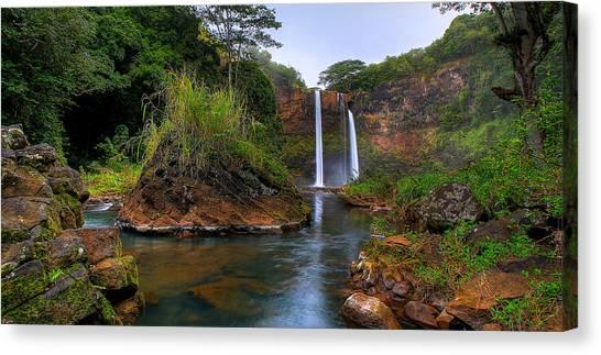 Below Wailua Falls Canvas Print