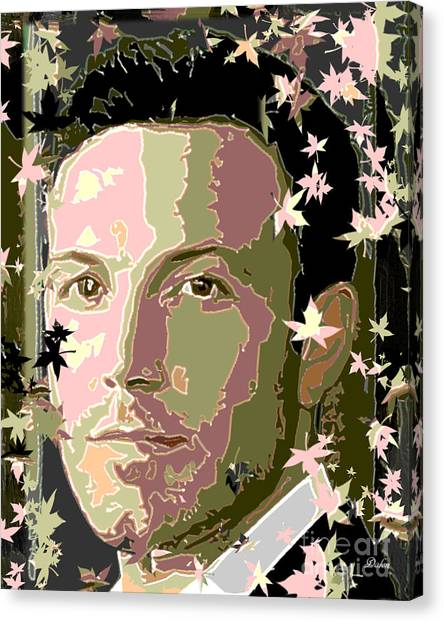 Ben Affleck Canvas Print - Ben Affleck by Dalon Ryan