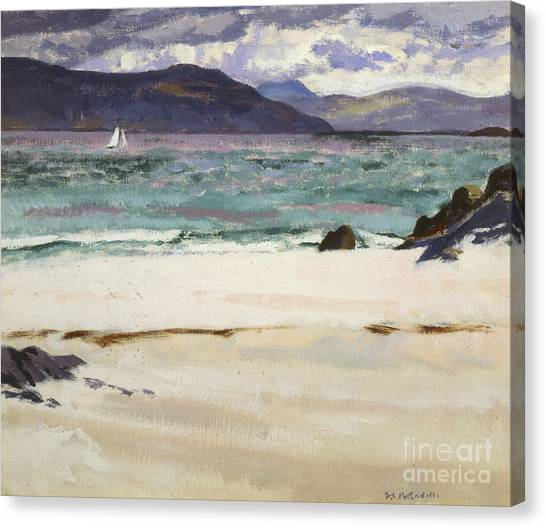 Campbell Canvas Print - Ben Bhuie From The North End   Iona by Francis Campbell Boileau Cadell