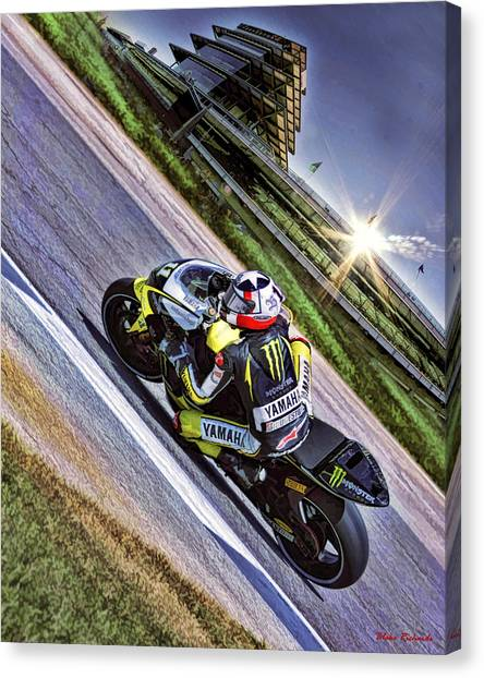 Ben Spies At Indy Canvas Print