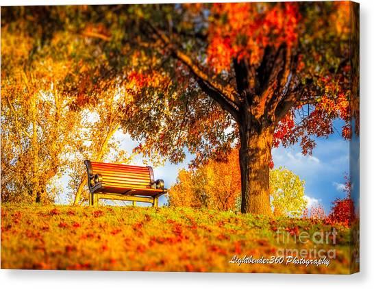 Bench Break Canvas Print