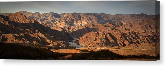 Bends Of The Colorado Canvas Print