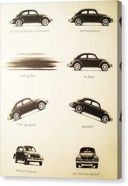 Benefits Of A Volkwagen Canvas Print