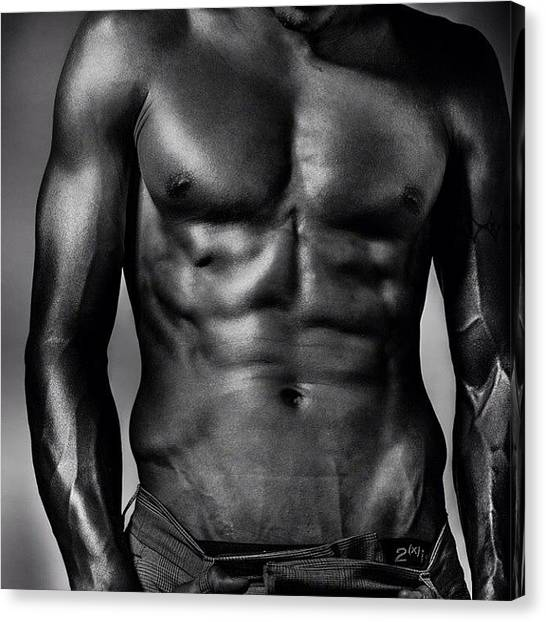 Torso Canvas Print - Benjamin :) By Me :) #modeltest by Maria Lankina