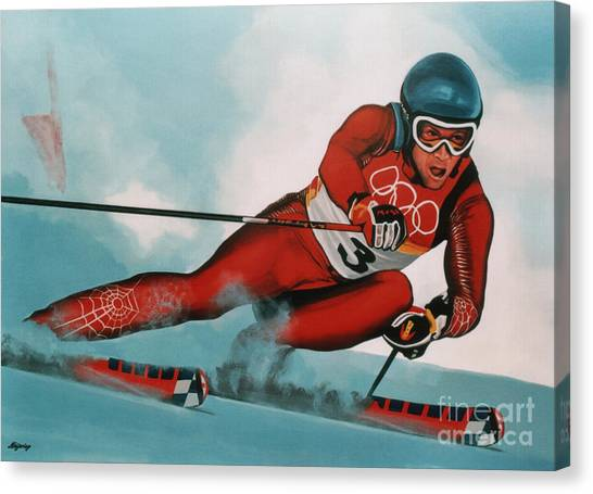 Salt Canvas Print - Benjamin Raich by Paul Meijering
