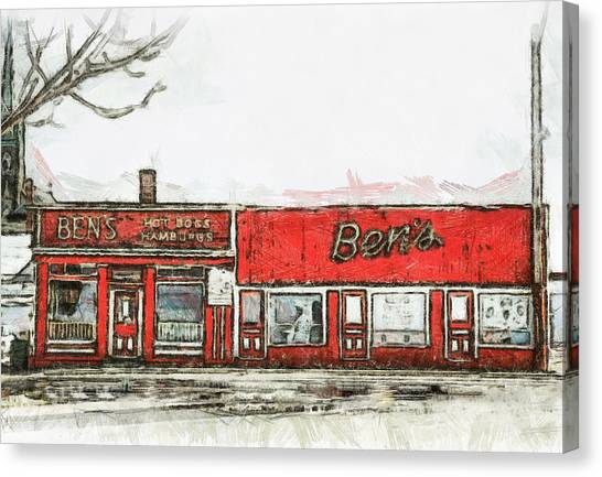 Ben's Canvas Print by Jason Bennett