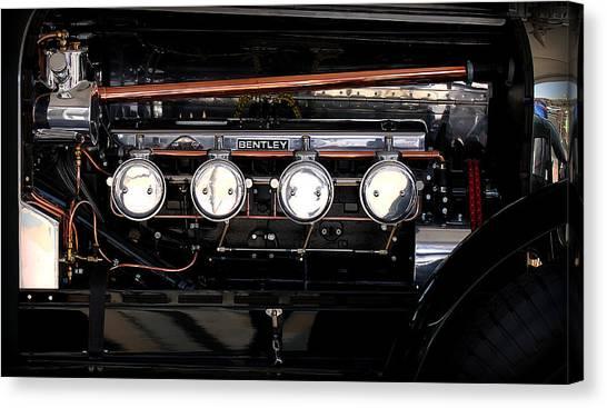 Bentley Engine Canvas Print by Radoslav Nedelchev