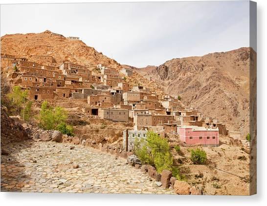 Moroccon Canvas Print - Berber Village by Ashley Cooper