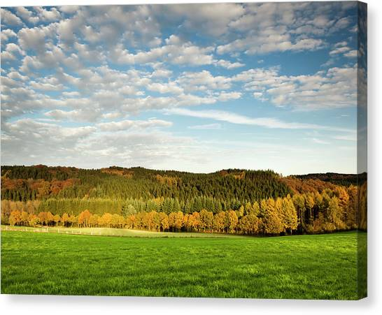 Bergisches Land Canvas Print by Jorg Greuel