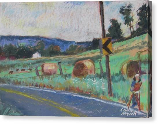 Berkshire Mountain Painter Canvas Print
