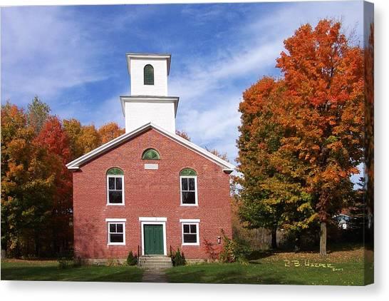 Berkshire Vermont Canvas Print